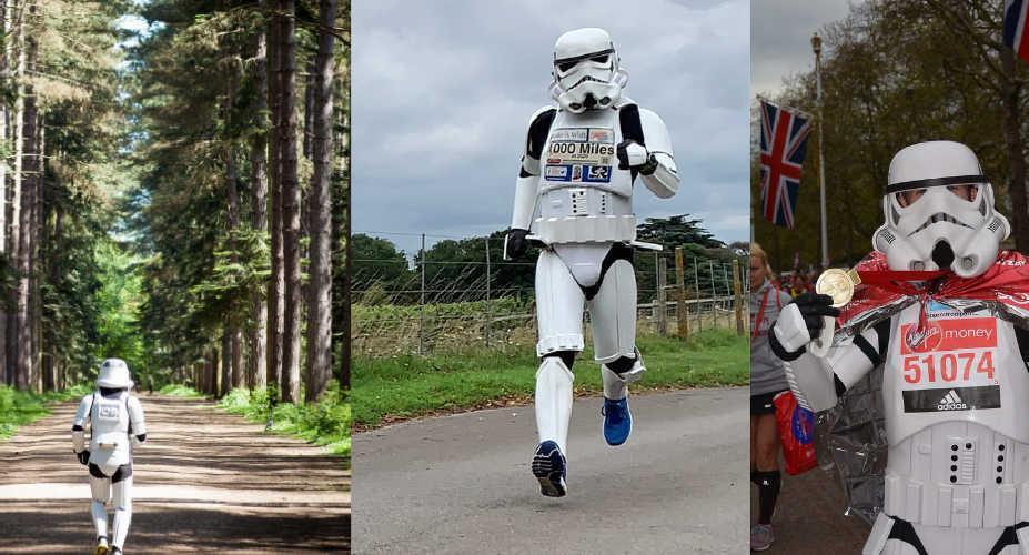 Meet the Running Stormtrooper