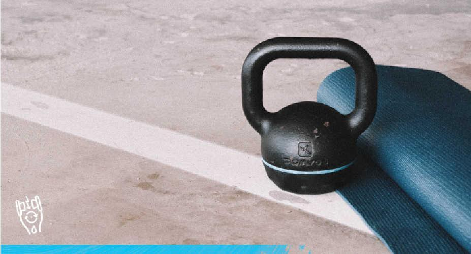 At Home Full Body Kettlebell Circuit
