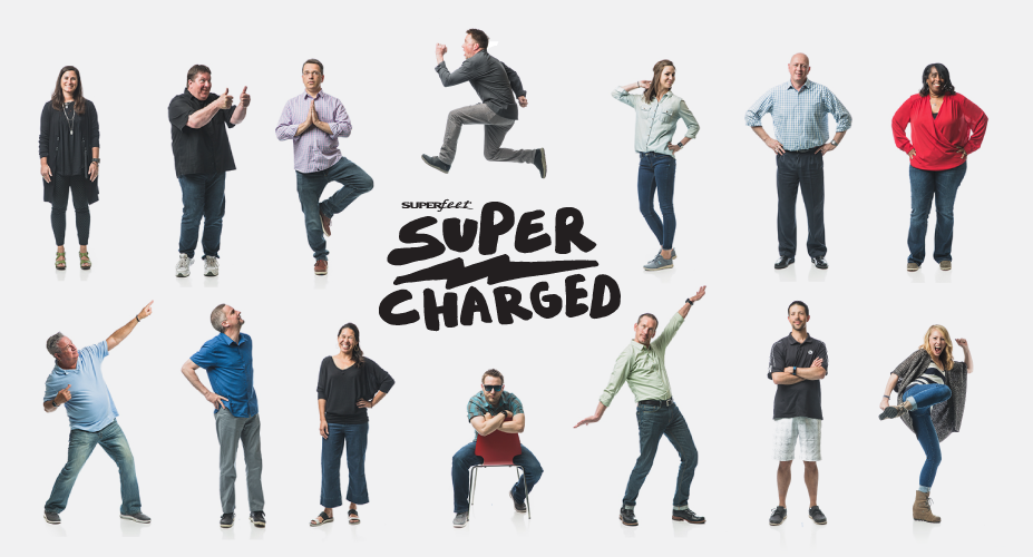 Superfeet Gets Supercharged