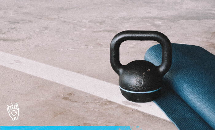 At Home Kettlebell Workout
