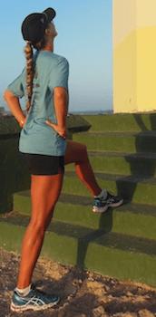 Tiffany Verbica Run Stretch