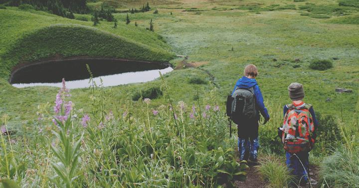 Hiking To The Lake