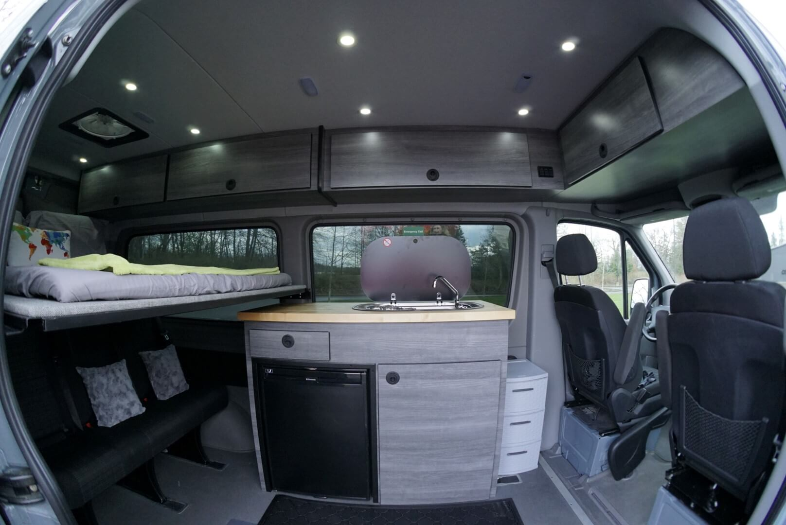 Superfeet Sprinter Van custom interior