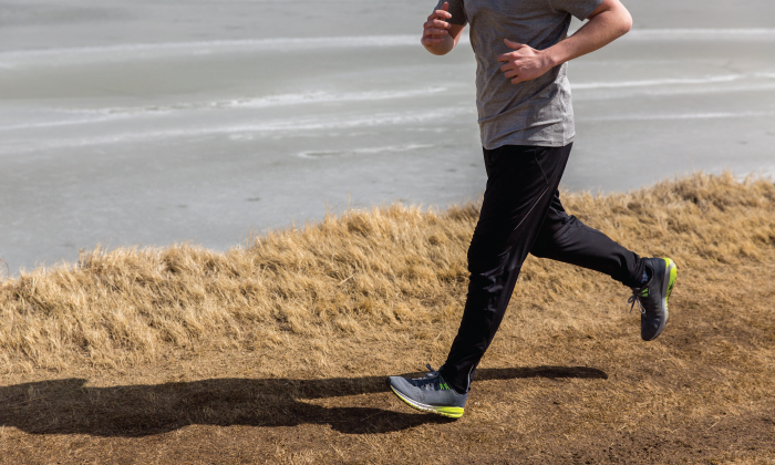 Running on soft, forgiving terrain can help prevent injury
