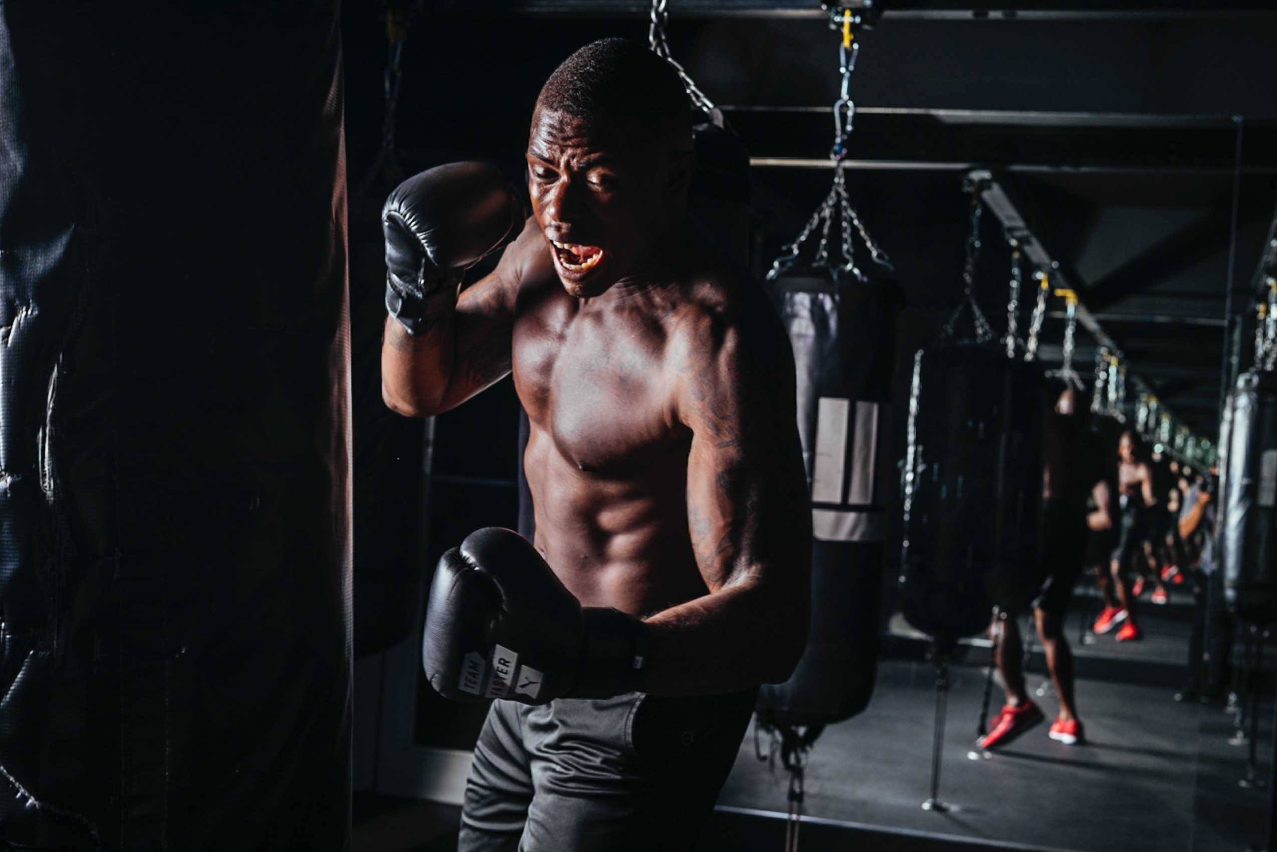 Boxing is a great working to do at home