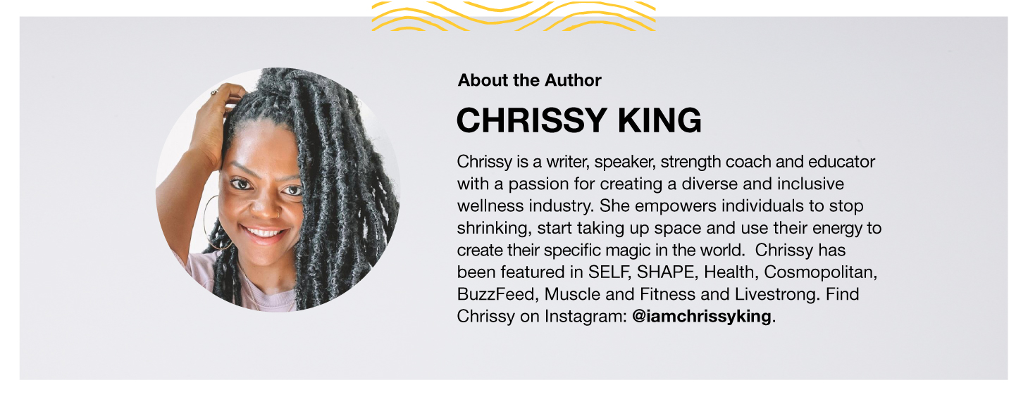 About the Author: Chrissy King