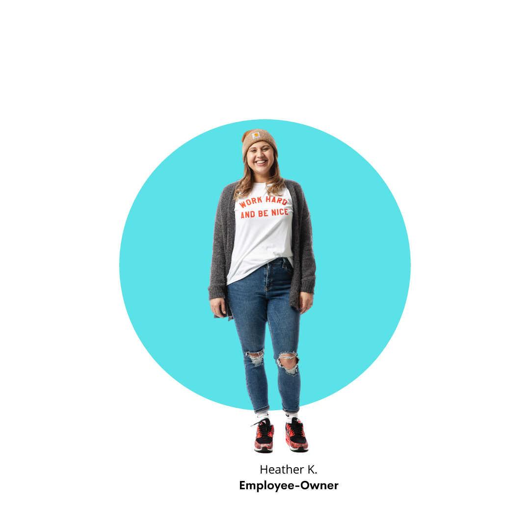 Superfeet Employee-Owner Heather K.