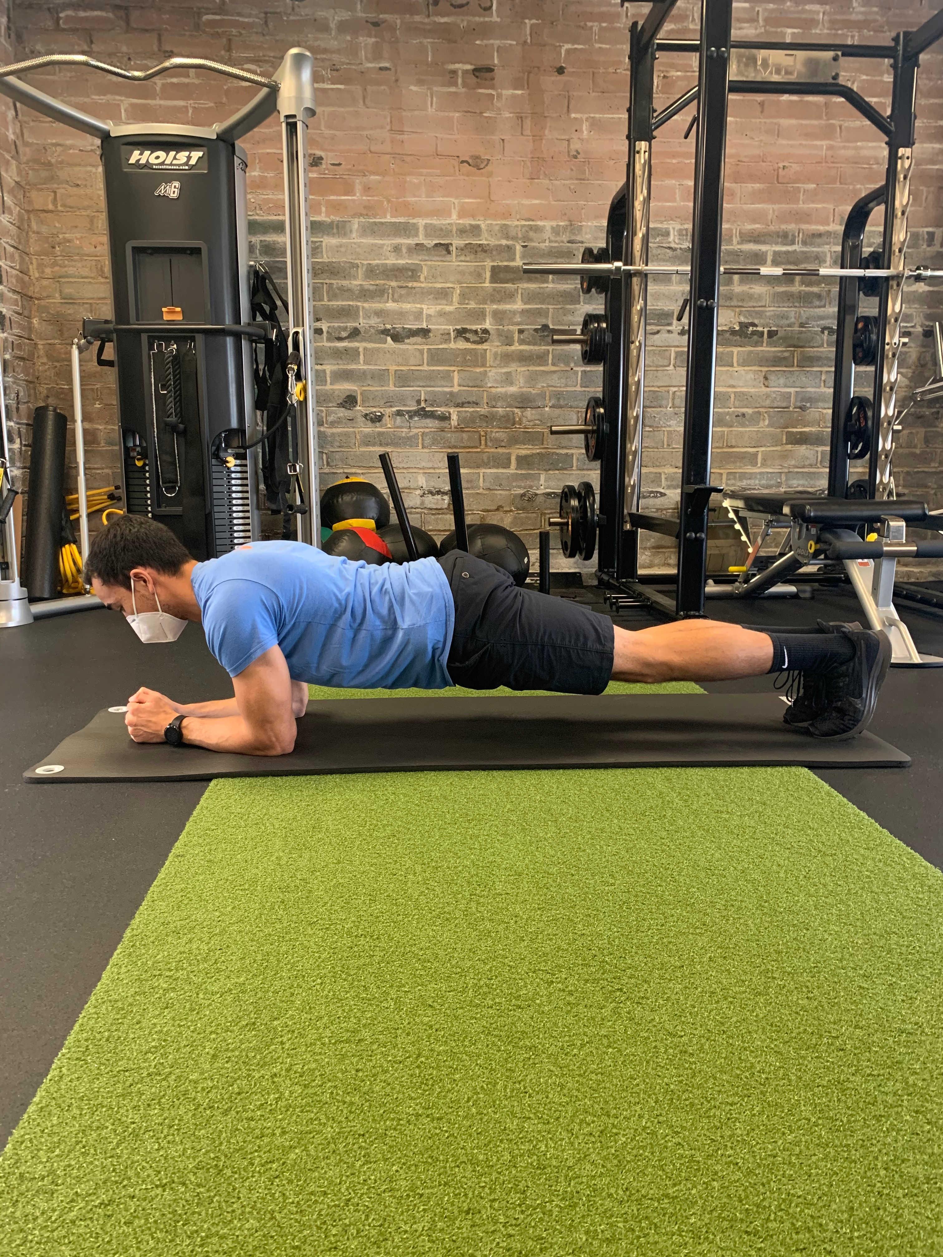Basic Front Plank