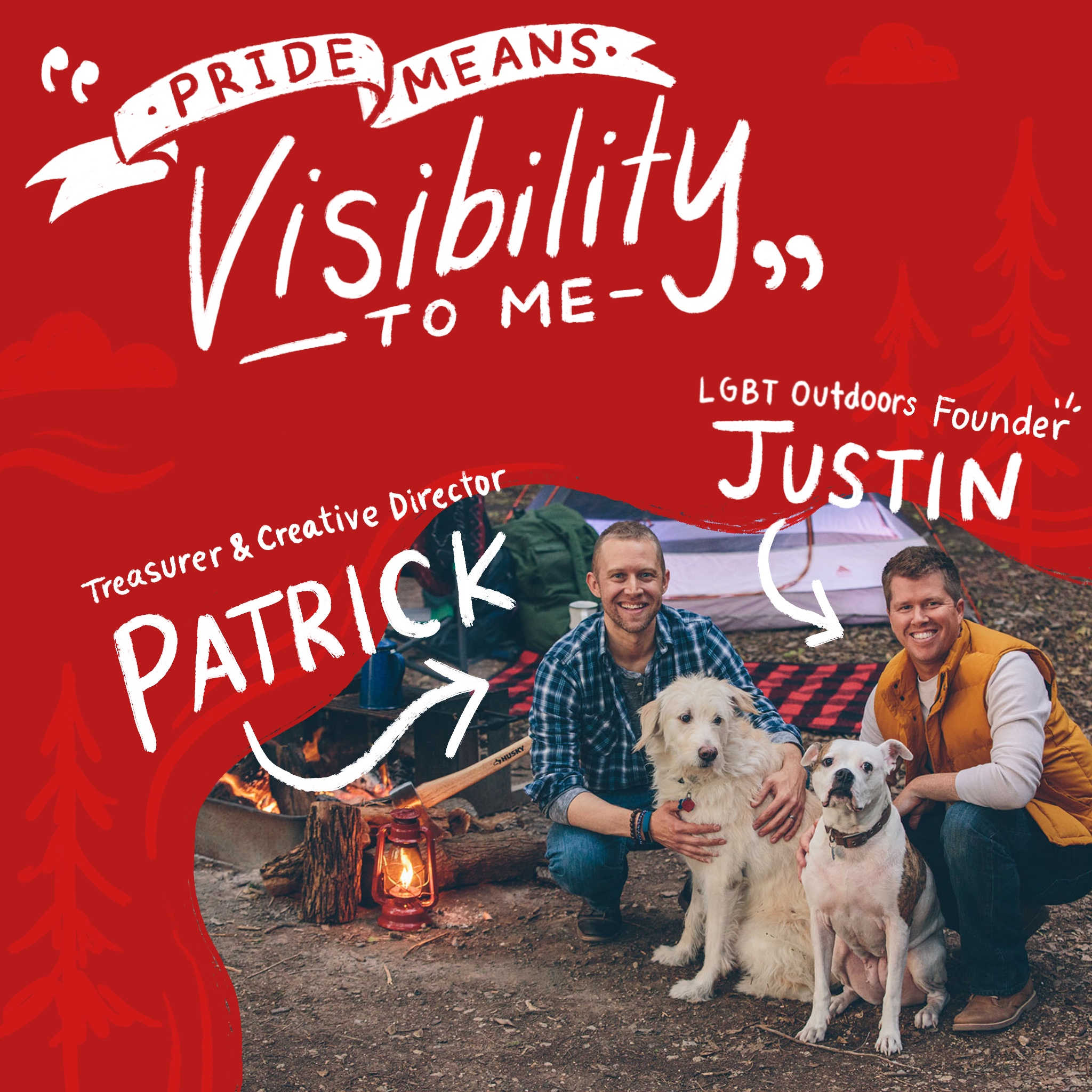 LGBT Outdoors founder Justin