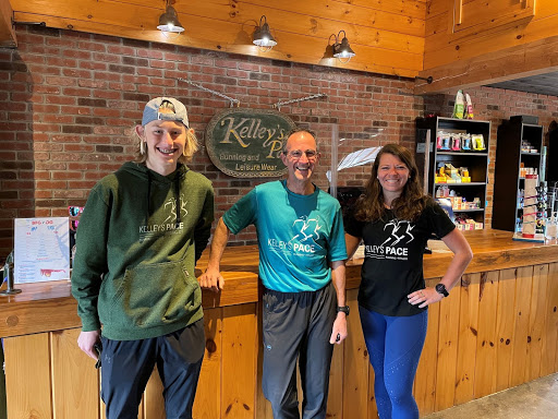 Kelley's Pace is a family-run community running store