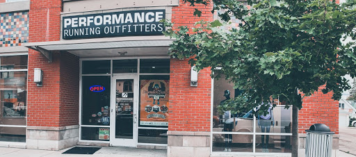The exterior view of Performance Running Outfitters