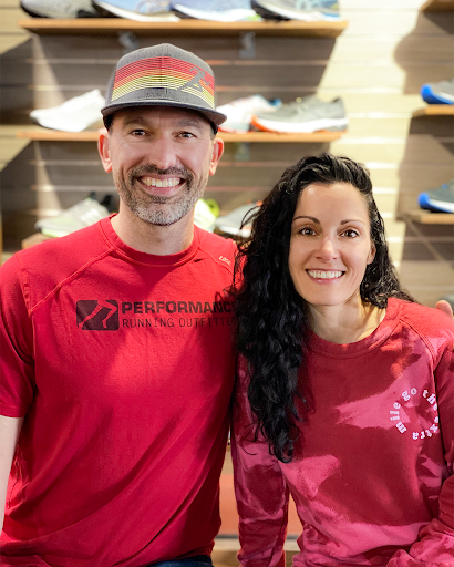 Jessica and Trae Hoepner are the owners of Performance Running Outfitters, established in 2006