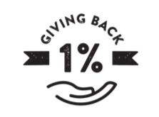 1% Giving Back