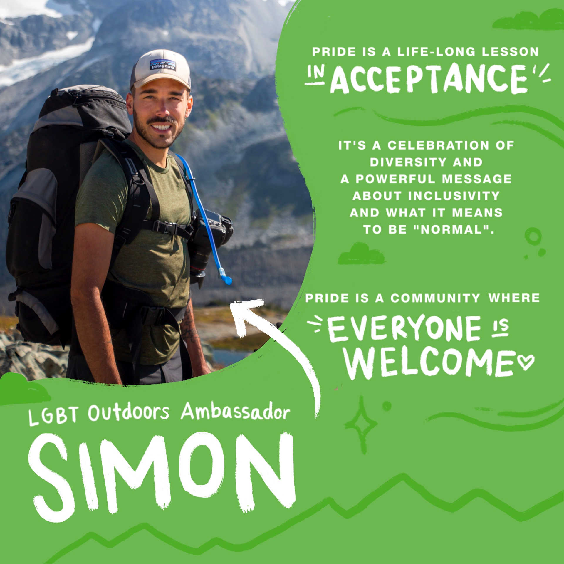 Meet LGBT Outdoors Ambassador Simon