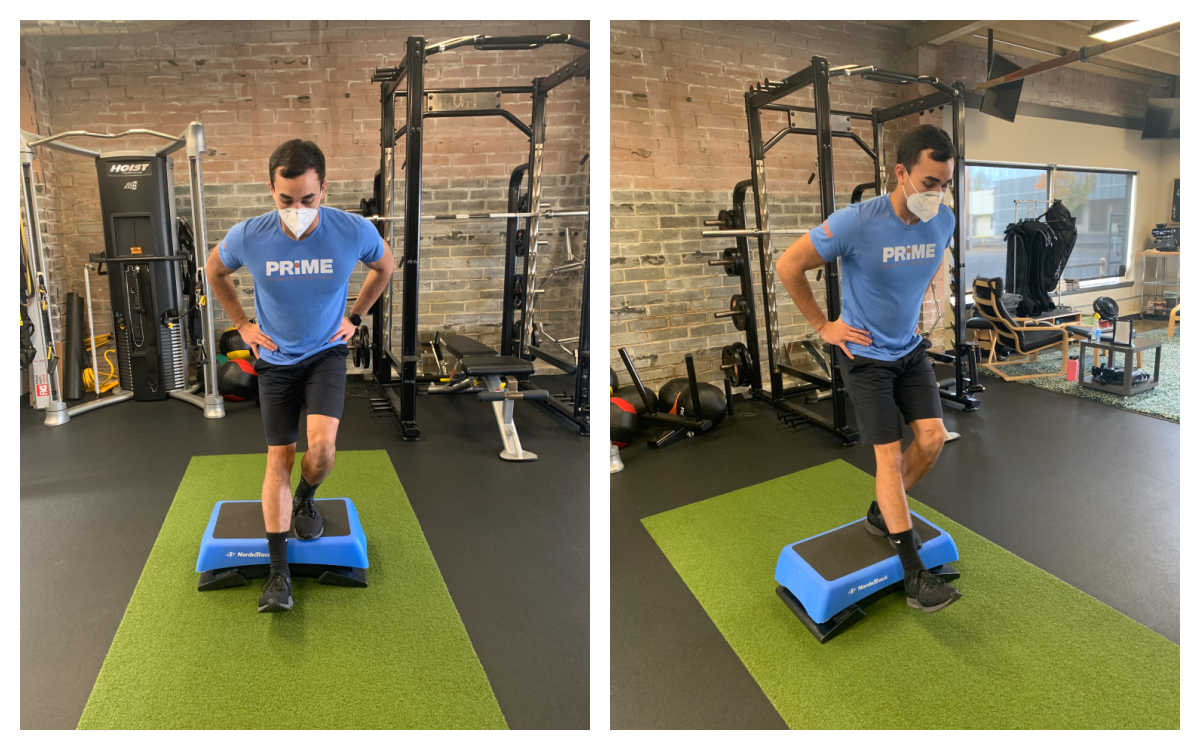 Standing Dynamic Quad Stretch