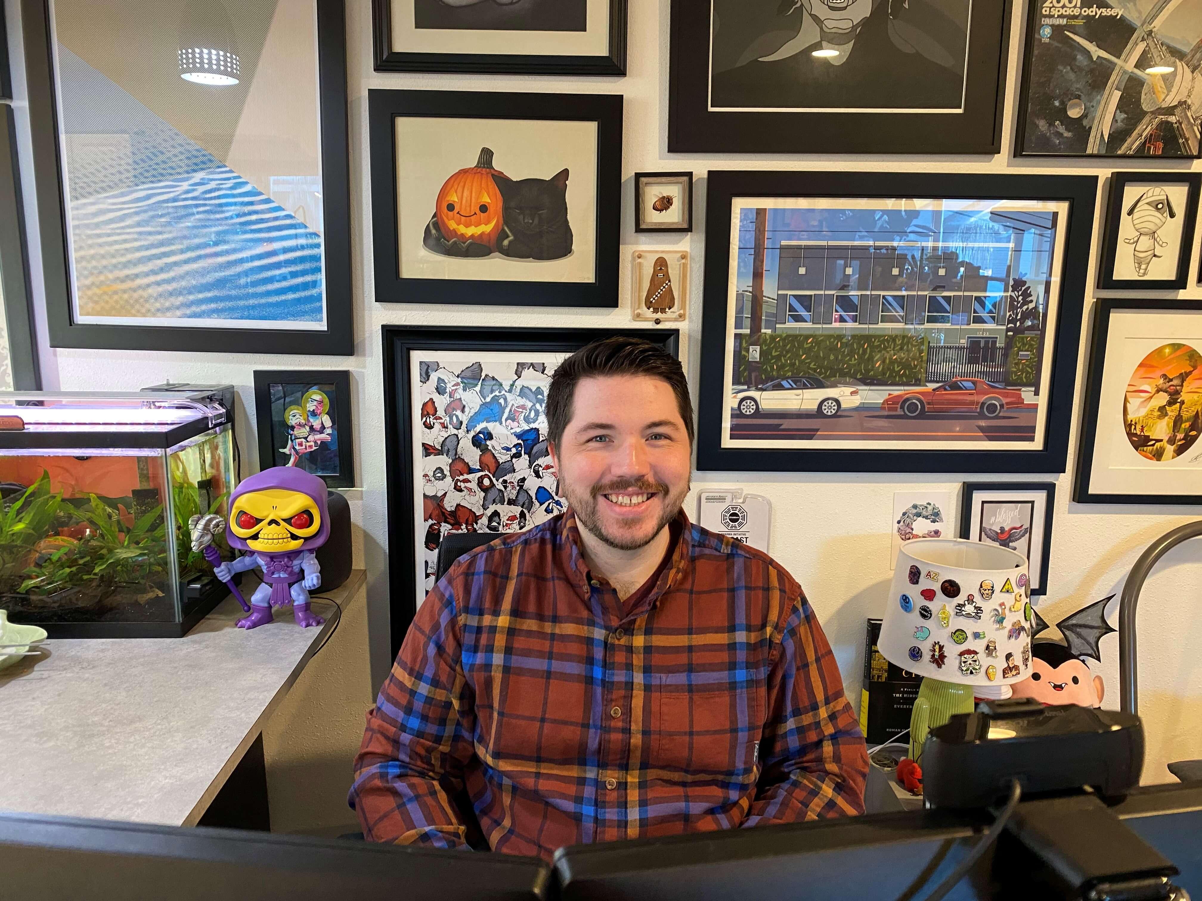 Superfeet employee-owner Michael Sullivan