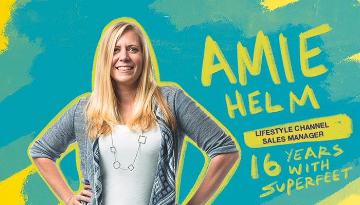 Superfeet employee Amie Helm