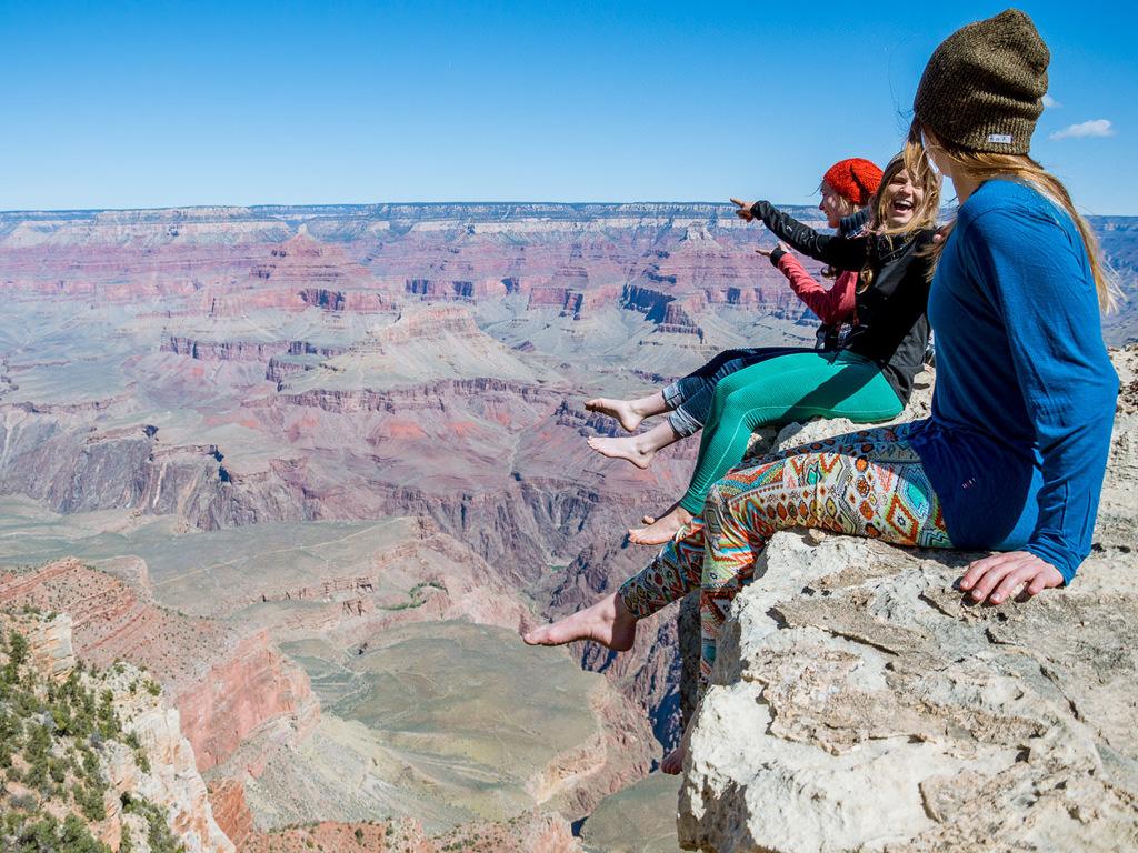 Grand Canyon Hiking Image