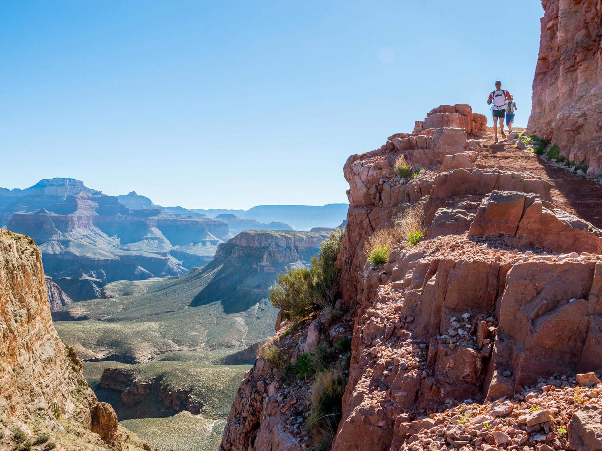 Grand Canyon Trail Running Image