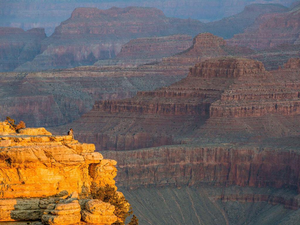Grand Canyon North and South Rim Image