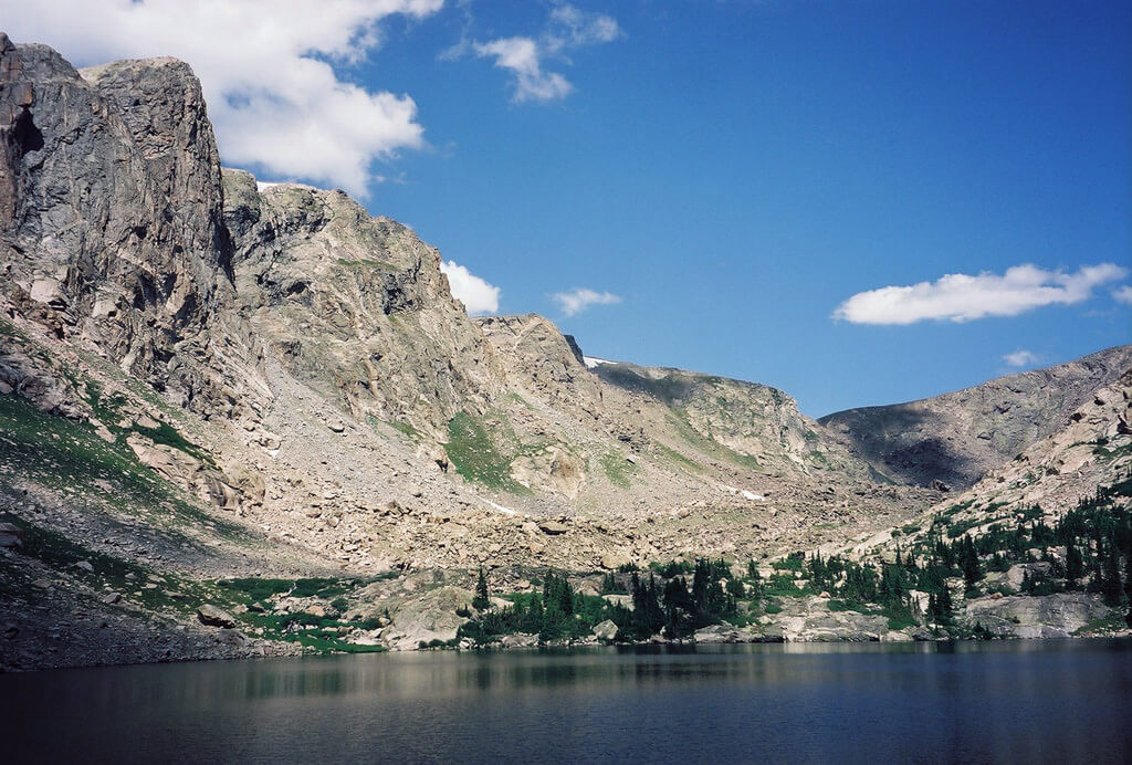 Mirror Lake, a peaceful backcountry destination. Bill Reed