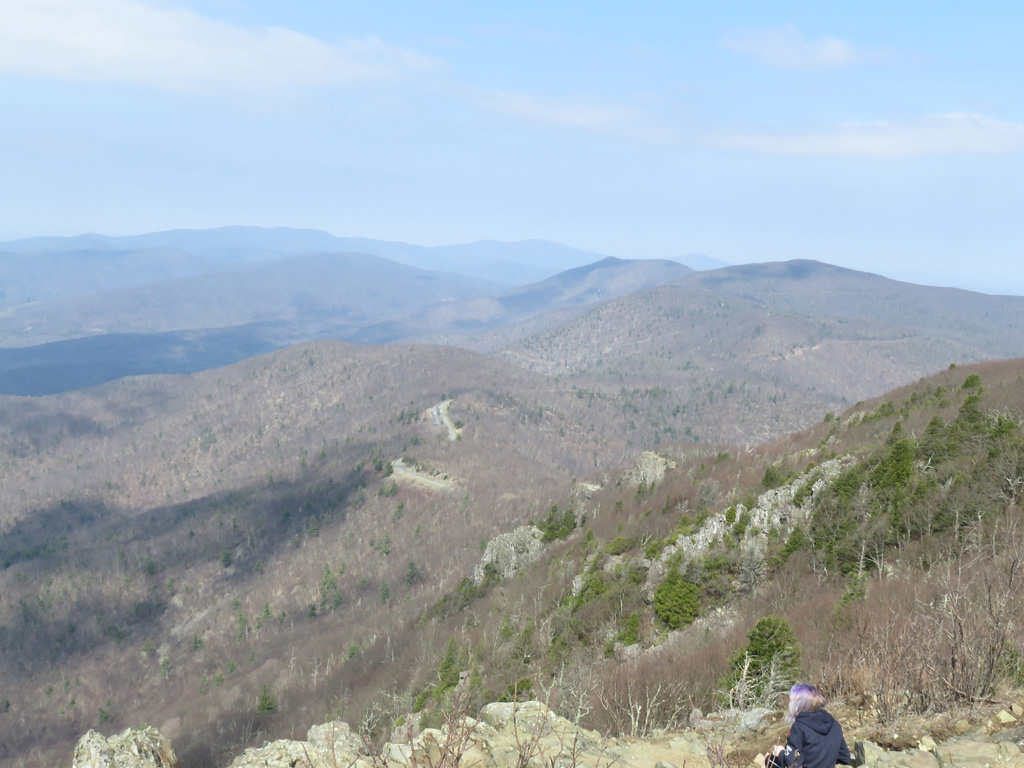 The Stony Mail Trail leads to a beautiful view of Shenandoah Valley. Jason Devaney