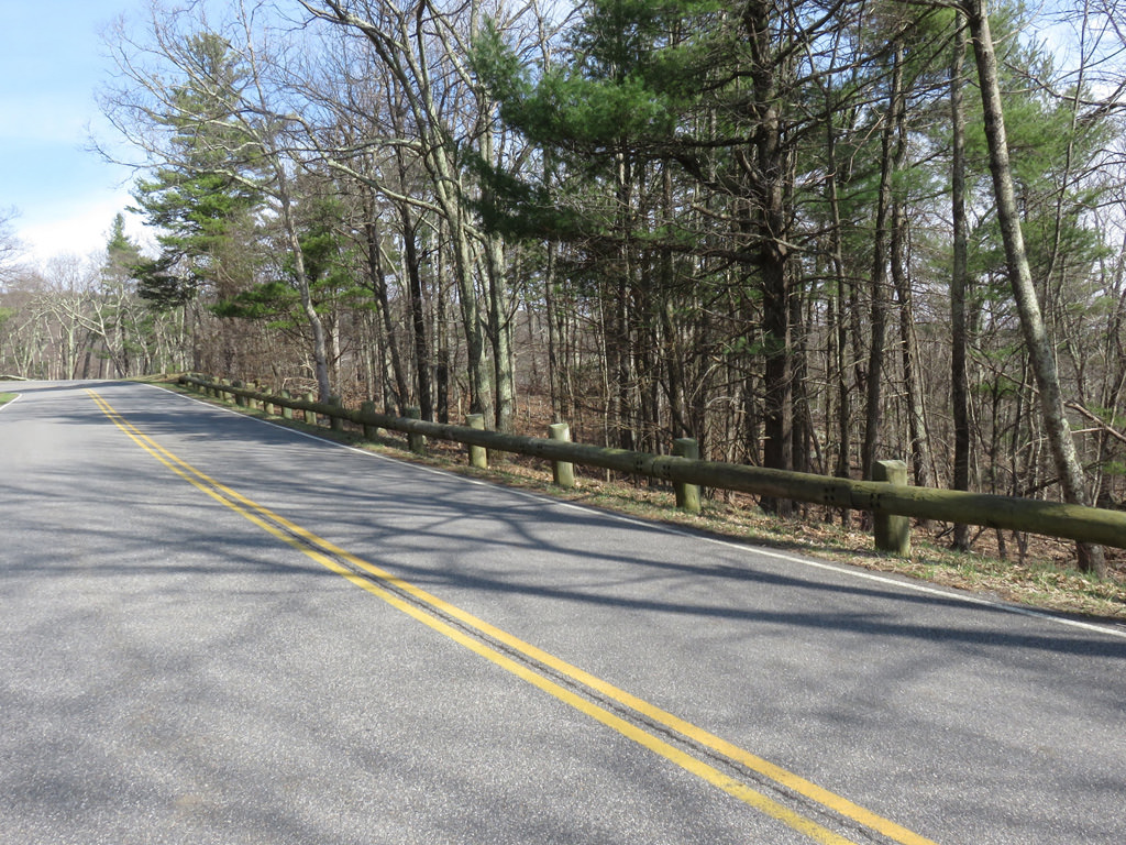 Skyline Drive gently winds 105 miles through the park as it traverses several climbs. Jason Devaney