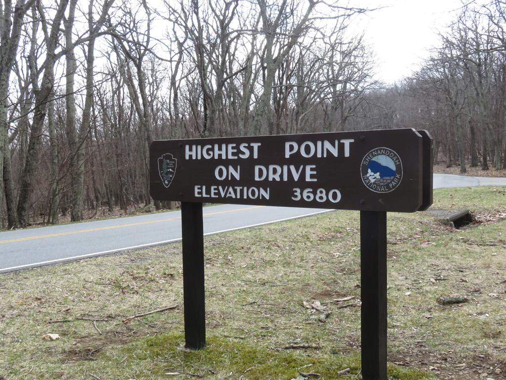 This sign greets visitors to Skyland at milepost 41.7. Jason Devaney