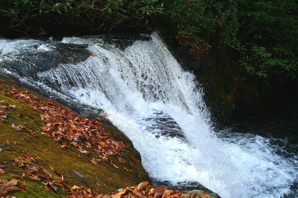 The Middle Cascade of Indian Flat Falls