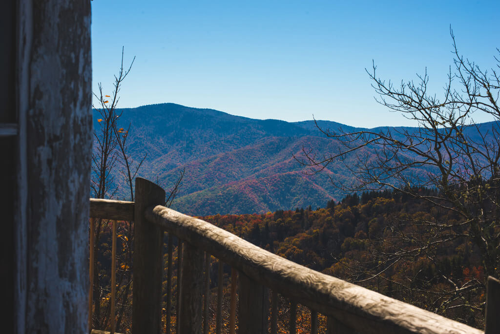From the Mount Cammerer Lookout Tower