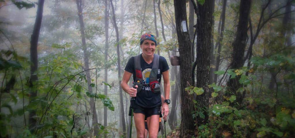 Woman Trail Runner