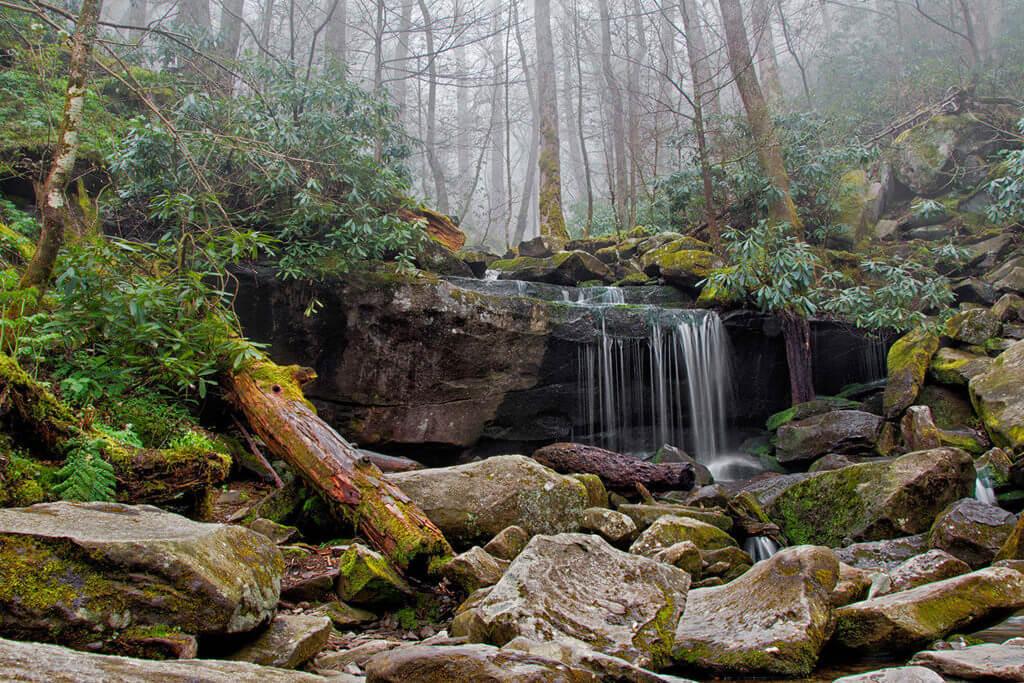 Rainbow Falls Trail