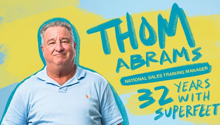 Superfeet employee Thom Abrams