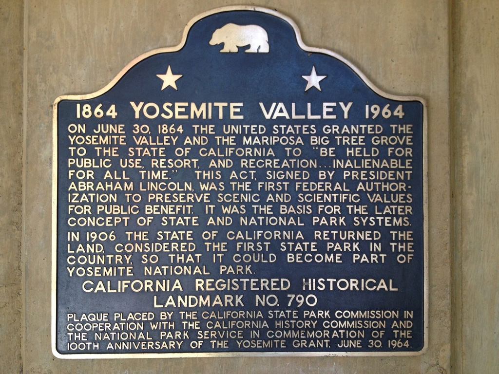 Yosemite National Park traces its origins to 1864, when President Abraham Lincoln signed a grant that later became the basis of the national park system. Ray Bouknight