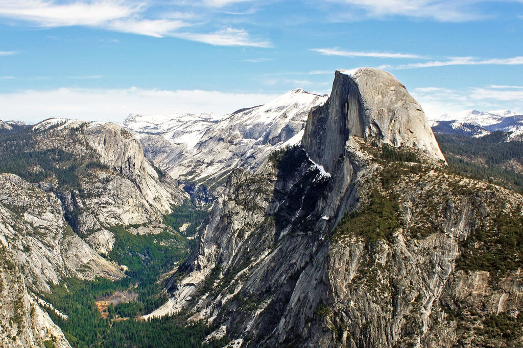 Half Dome is perhaps the most iconic rock formation in Yosemite National Park. Dimitry B.